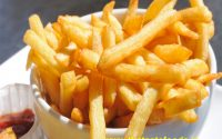 Made with French fries of potatoes