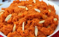 Method of making carrot pudding