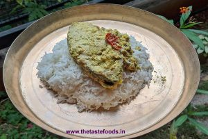 Hilsa with mustard